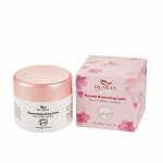 Jacaran Placenta Moisturising Cream Rose Oil with Vitamin E 100g - 100 ml rose essential oil from jakari sheep oil jacaran australia - 3    - Health Cart