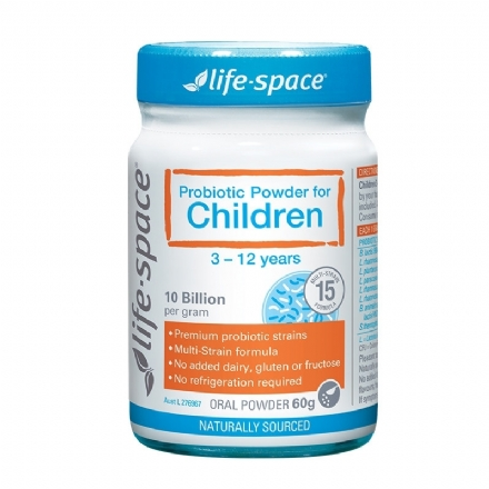 Life Space Probiotic Powder For Children 60g - Health Cart