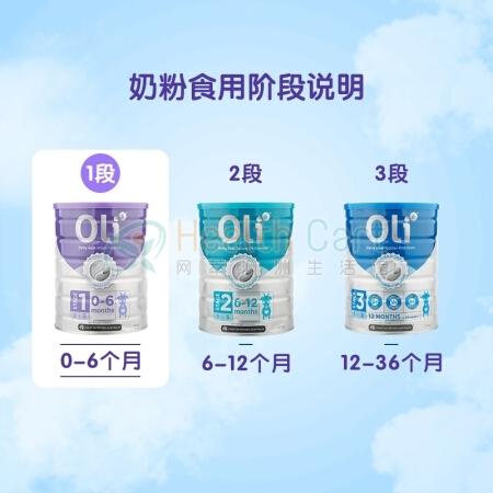 Oli6 Dairy Goat Infant Formula (Stage 1) 800g - Health Cart